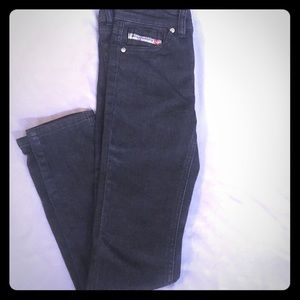 Girls Diesel Industry denim division jeans